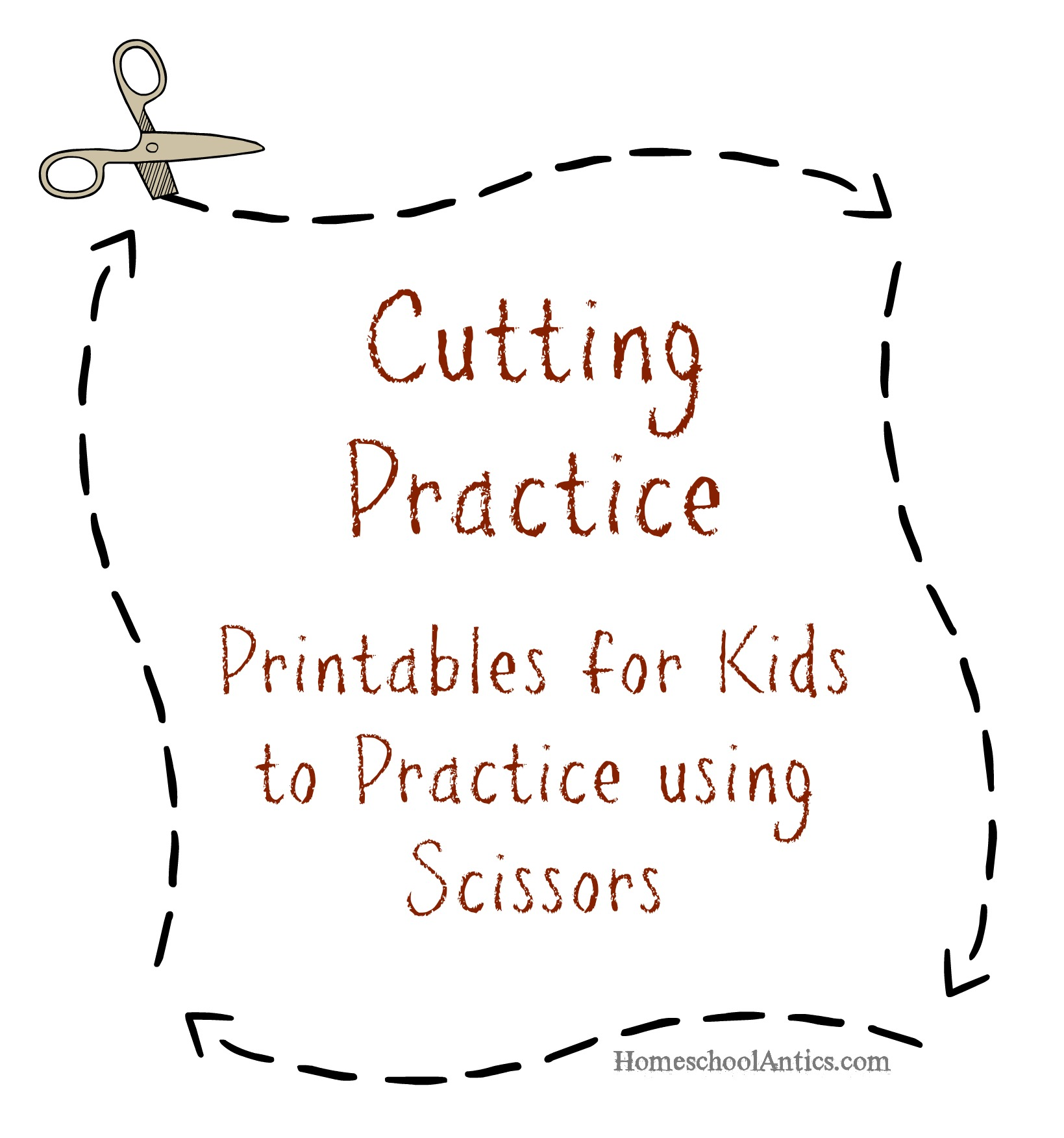 Worksheets Cutting Worksheets For Preschool cutting practice printables