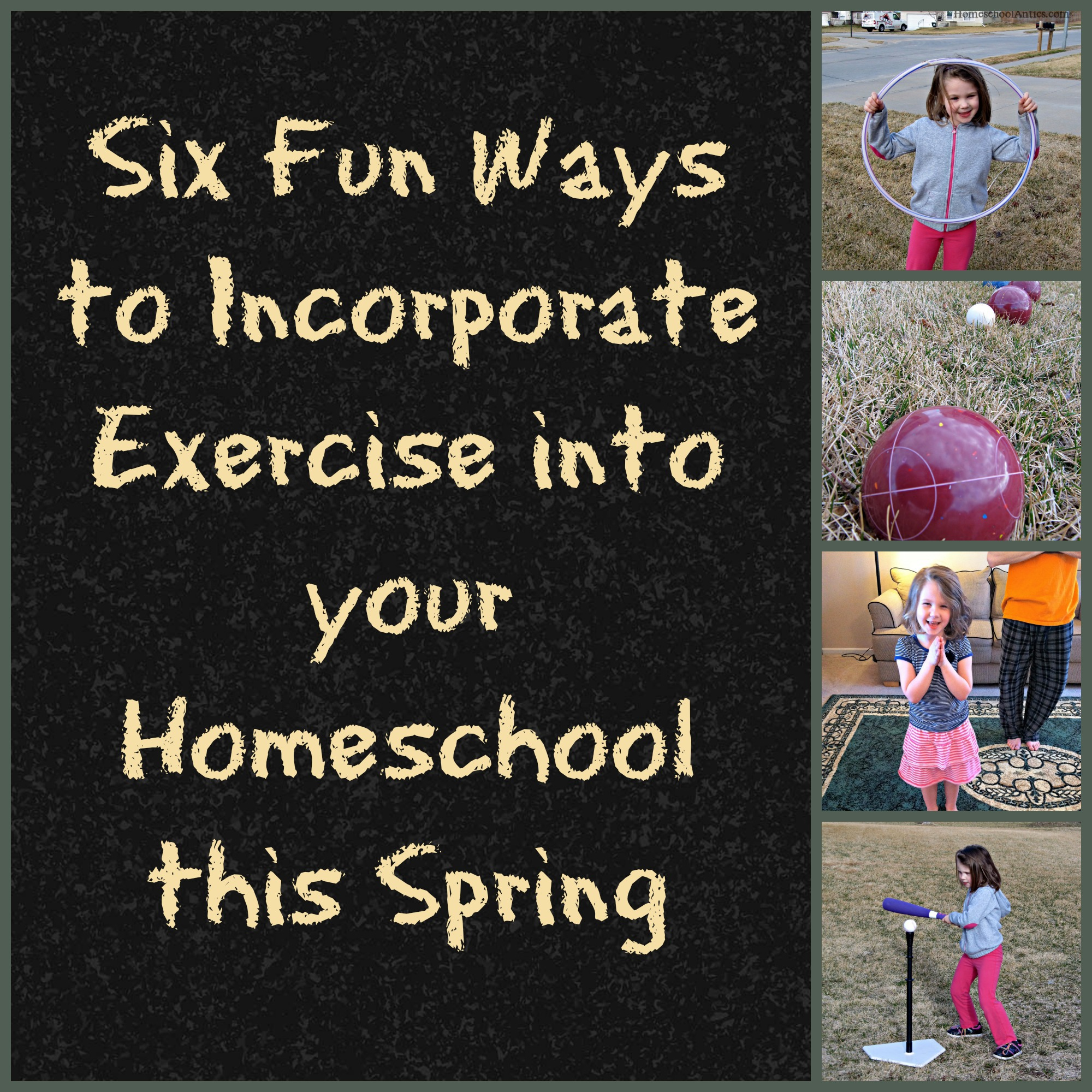 Fun Ways to Incorporate Exercise into Homeschool