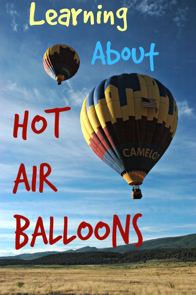 Learning about Hot Air Balloons