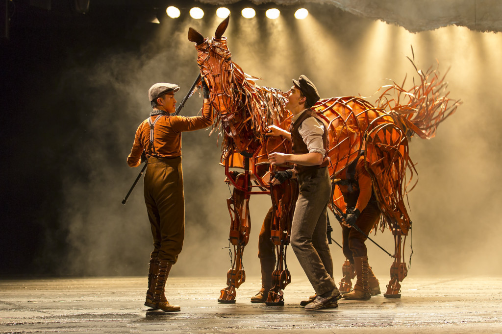 Production image from War Horse