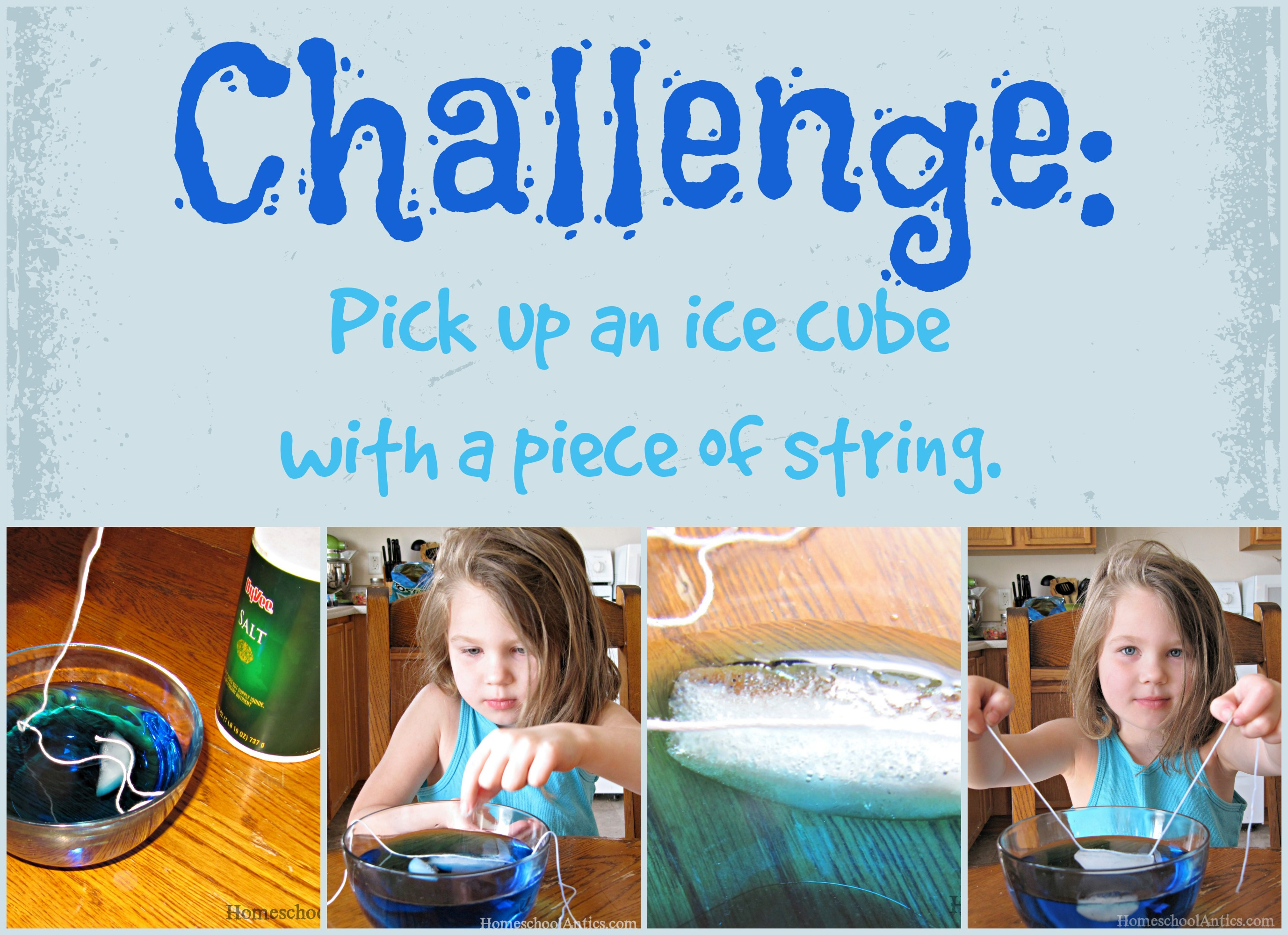 Ice Cube Challenge Can You Pick One Up With Only A String