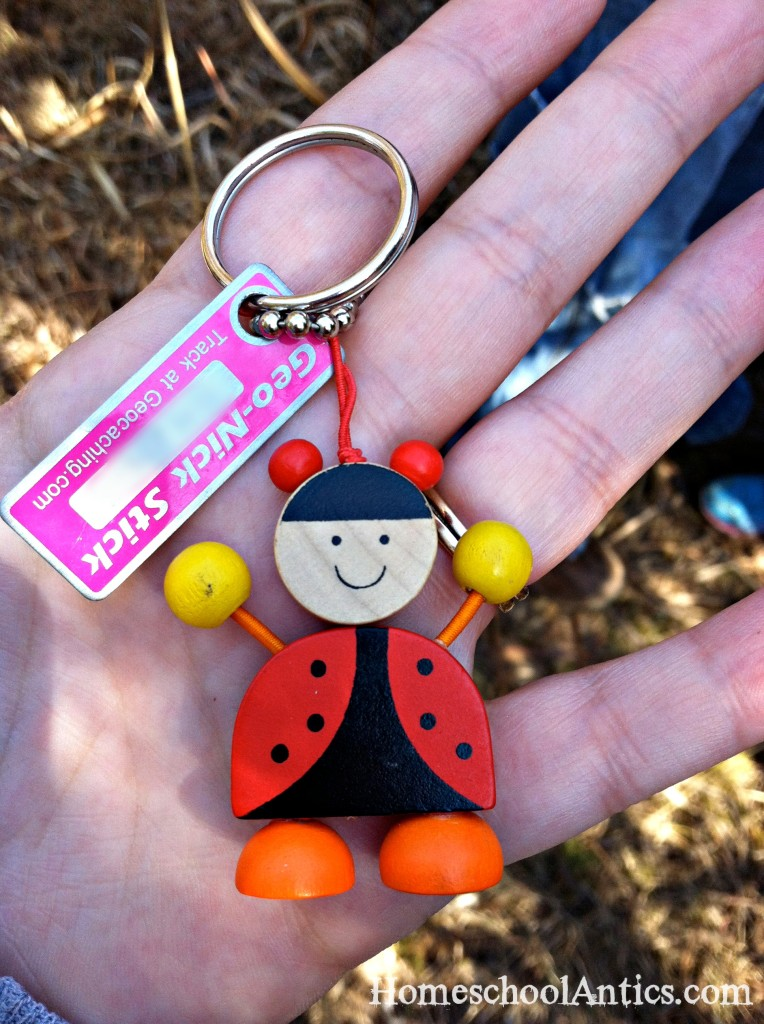 Geocaching trackable