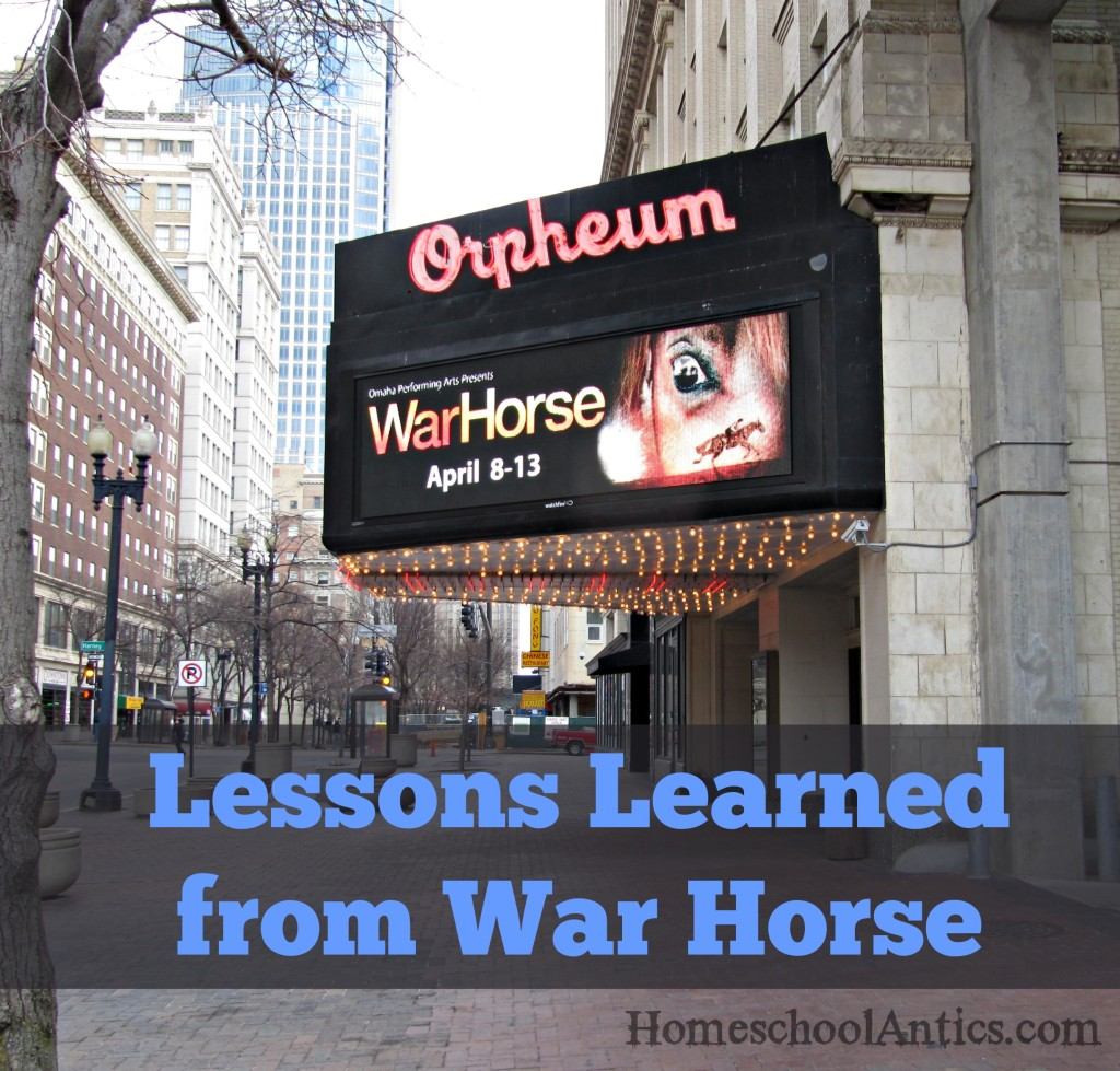Lessons Learned from War Horse