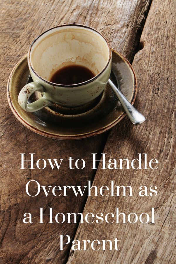 Homeschooling can be overwhelming for a variety of reasons. Helpful advice to help reduce the overwhelm and make homeschool life a bit more manageable.