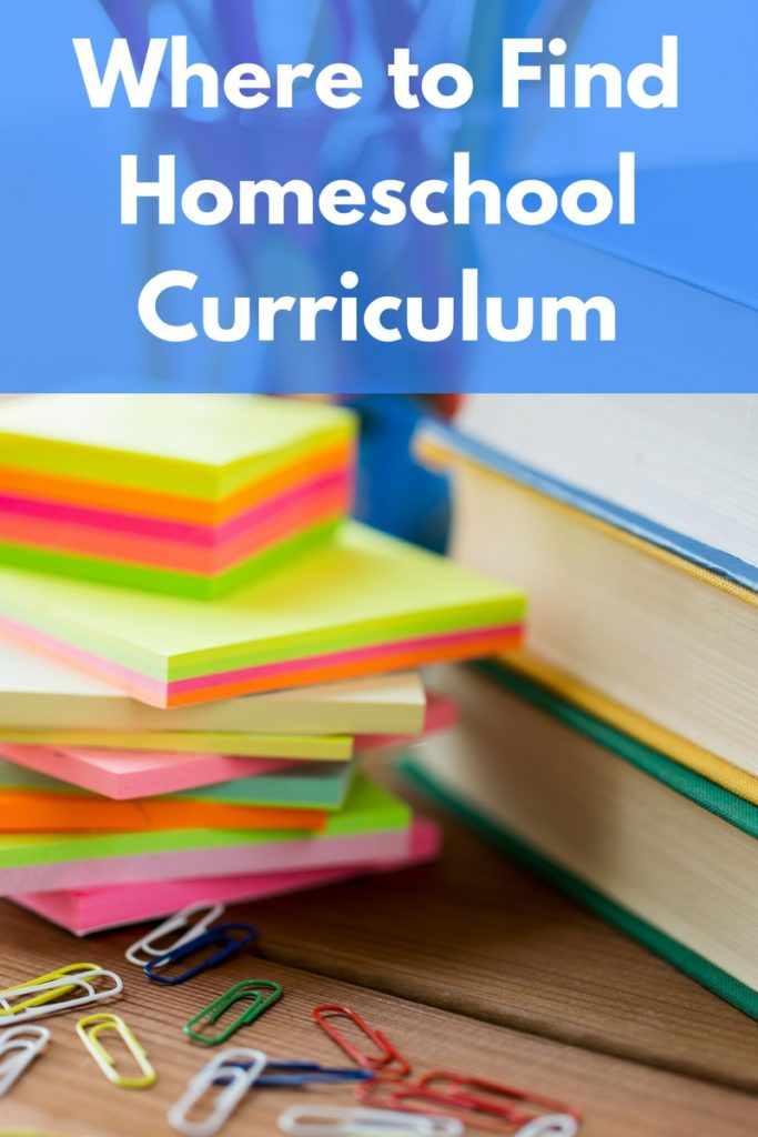 A collection of resources and ideas for homeschool families to find curriculum and educational materials.
