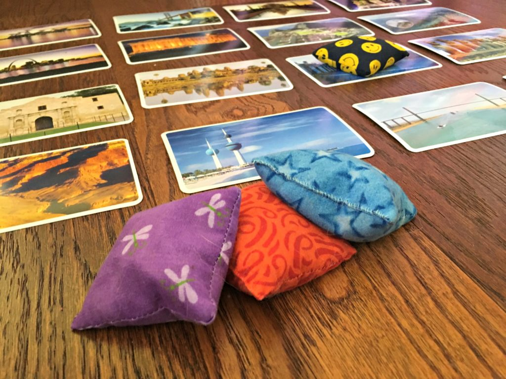 Games are a great way to add fun into your homeschool learning. Have fun coming up with your own versions of this game too!