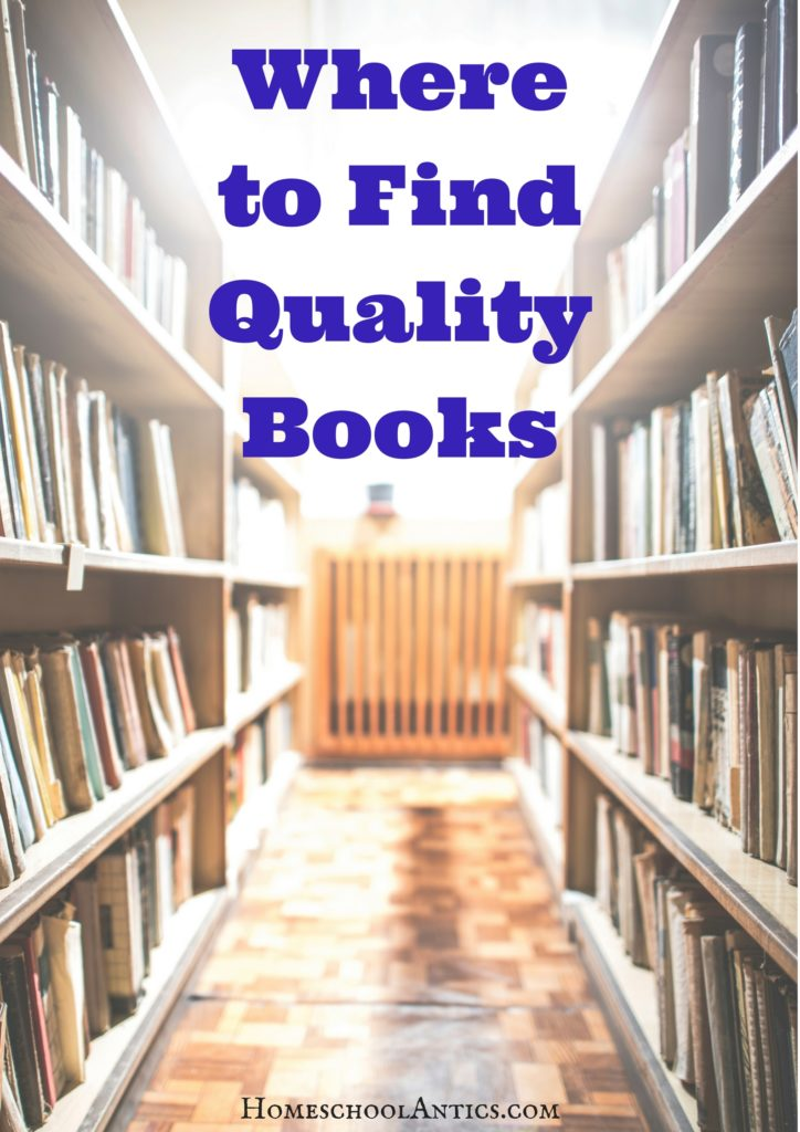 Need some ideas to locate quality books for your kids to read?