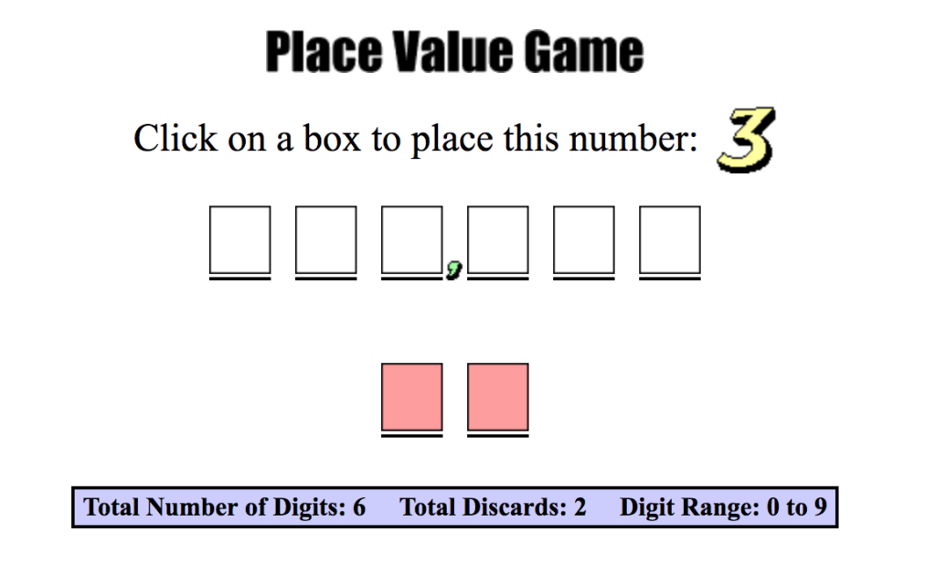 Free Online Games to Help Kids Master Place Values